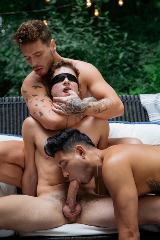 CockyBoys: Josh Moore and Ricky Roman and Taylor Reign