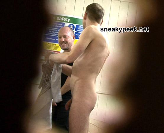Sneaky Peek: Hung Workman Shows Off His Uncut Dick